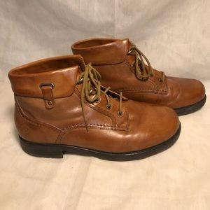 da2f14d7 Earth Spirit. Earth Sprit leather ankle boots ...